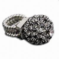Buy cheap Ring, Decorated with Transparent Acrylic, Lead- and Nickel-free product