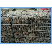 Buy cheap Zinc Coated Welded Gabion Baskets , Stone Filled Wire Cages Square /  Rectangular Hole product