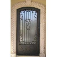 Buy cheap Wrought iron double entry doors product
