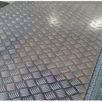 Buy cheap Roll Aluminium Floor Plate 2mm Thick , Aluminum Tread Plate Embosssed Sheet product