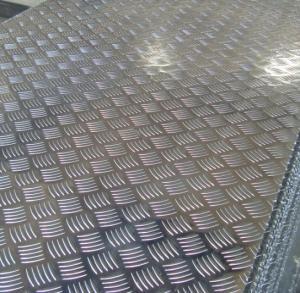 Buy cheap Плита пола 2mm крена алюминиевая толщиной, алюминиевый лист Embosssed плиты проступи product