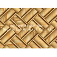 Buy cheap Printable Hot Stamping Foil Rolls , Pvc Membrane Foil For Doors Strong Adhesion product
