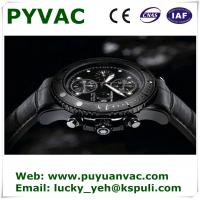 China DLC film coating black colrs for watch case/pvd coating equipment on sale