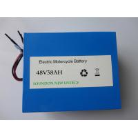 Buy cheap 38Ah Lithium Ion Motorcycle Battery with longer cycle life for  48V AGV / Golf Cart / Tricyle / Scooter product