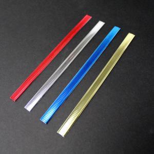 PP Glue Double Wire Twist Tin Ties Custom Coffee Packaging / Food Packaging Bag