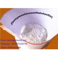 Buy cheap Powerful Anti Estrogen Steroids Testosterone Steroid Fluoxymesterone / Halotestin CAS 76-43-7 product