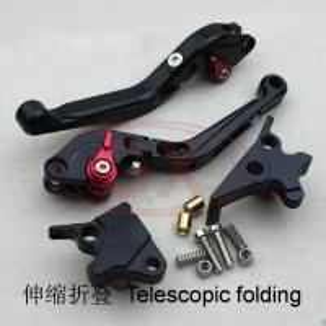 Motorcycle CNC folding lever, Motor OEM quality levers black