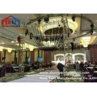 Buy cheap Glass Finished Aluminum Stage Truss Outdoor For Weddings Party 80km / h product
