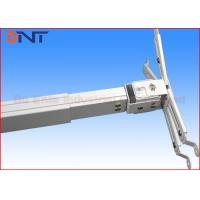 China Presentation White LCD Projector Ceiling Mount Bracket For Conference Room on sale