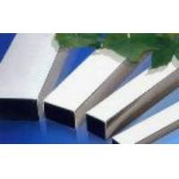 Buy cheap Special specifications inox rectangular tube 40*130mm,304 stainless steel tube weight product