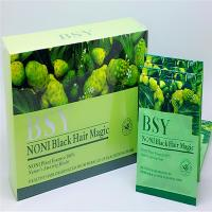 China bsy noni black hair magic wholesale