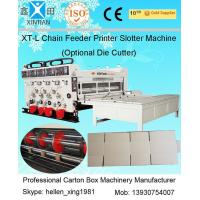 Buy cheap Auto Chrome Carton Making Machine 60pcs/min With Chain Feeding Model For Printing product