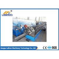 Buy cheap Steel structure 6m to 8m long C purlin roll forming machine / C Z U purlin roll forming machine product