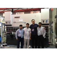 China Large 250 Ton CNC Press Brake Machine Hydraulic Press For Sheet Metal Bending 3 Axis on sale