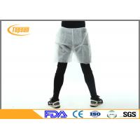 Buy cheap Safety Waterproof Disposable Shorts PP Non Woven Boxer For Mens SPA product