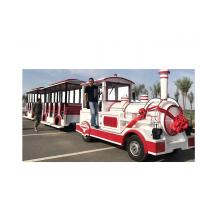 72 Seat Trackless Kiddie Train Mini Electric Train Shopping Mall 1 Year Warranty