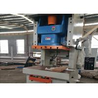 Buy cheap Economic Eccentric Press Machine With Fixed Bed , General Open Metal Punching Machine product