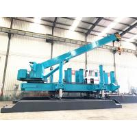 Buy cheap ZYC460 Blue Hydraulic Static Pile Driver For Jacking Pile From T - Works product