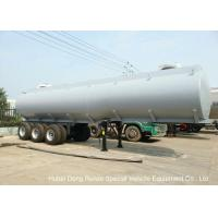 Buy cheap Steel Lined PE Road Chemical Tank Trailers For Transport Bleach , Hydrochloric Acid product