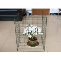 Green Plastic Metal Wire Compost Container 450 Liter Easily Install 690X890mm