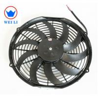 Bus Low Noise Centrifugal Fan , 12V/24V DC Brush Ultra Thin Electric Radiator Fan