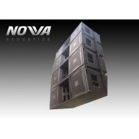 Buy cheap High Powered Line Array Speakers For Big Performance , Black Color product
