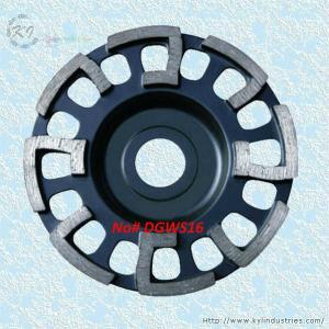 Buy cheap J-shape Segment Cup Grinding Wheel - DGWS16 product