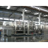 China  3-in-1 Carbonated Filling Machine For PET Bottle With 24 Rinsing Heads  for sale