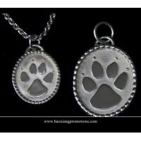 Buy cheap Round Paw Dog Pet ID Tags Disc Dog tag or Cat tag Engraved Custom LOGO product