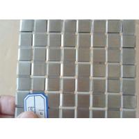 Buy cheap Decorative Flat Wire Mesh Stainless Steel Plain Weave For Exhibition Hall product