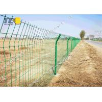Buy cheap Pvc Coated welded wire fence High Speed Protection Net Corrosion Resistance product