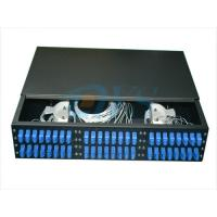 Buy cheap 19 Inch Rack Mount Fiber Optic Odf , 2U 48 Core Optic Patch Panel Odf Robust Structure product