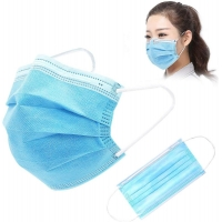 Buy cheap Disposable Gauze 10PCS FDA Earloop 3 Ply Face Mask product
