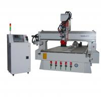 Buy cheap turntable type  ATC CNC Router for wood, acrylic, glass and so on product