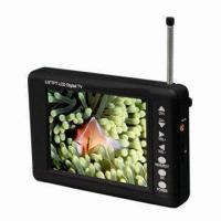 Quality Portable Digital TV with 3.5-Inch Screen, Rod Antenna Reception and Signal for sale