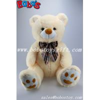 "Buy cheap 21.5"" sitting position large size teddy bear with colorful ribbon product"
