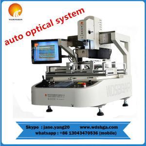 China Full--Auto soldering repair machine, 3 Heating zones WDS-880 reball soldering repair weld on sale