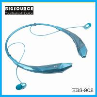 China New HBS-902 Stereo Bluetooth headphone With mic Unique wireless sports neckband Headset on sale