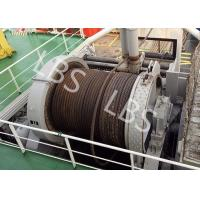 Buy cheap 10 Ton 20 Ton 50T Ship Traction Marine Winch With Spooling Device product