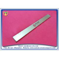 Buy cheap Golden Aluminium Extrusion Profile Signboard With CNC Deep Processing product