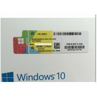 China FQC 08788 Microsoft Windows 10 Pro Upgrade , Windows 10 Professional 64 Bit Product Key on sale