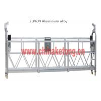 Safety Suspended Access Platforms For Building Maintenance With Steel Rope
