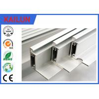 Quality T5 Solar Frames Aluminum Extrusions For 48 Cells Module Screw Joint Traditional Style for sale