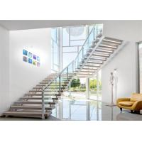 Buy cheap Modern 12mm toughened glass railing/aluminum U channel deck railing design product