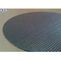 Buy cheap Woven Wire Stainless Steel Filter Disc , Aerospace Quality Round Wire Mesh Discs product