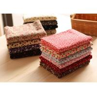Buy cheap 98% Cotton 2% Spandex Candy Floral Corduroy Fabric Fabric product
