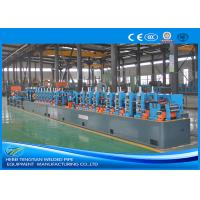 Buy cheap Custom Size Pipe Making Machine , Stainless Steel Tube Mill For L Shape Pipe product
