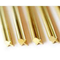 Buy cheap Gold Anodizing Aluminum Window Extrusion Profiles ,Silding Window Track product