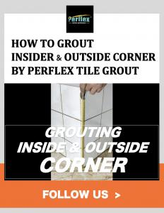 Buy cheap How To Grout Tile Inside Corner & Outside Corner By Perflex Tile Grout product