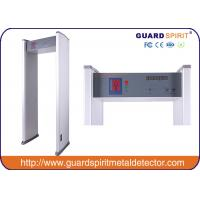 Buy cheap cheap price 6 zones walk through metal detector , security metal detctor with 6 LED Strips alarm product